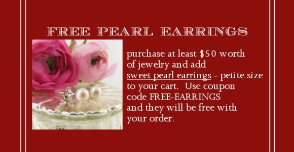 Free Pearl Earrings